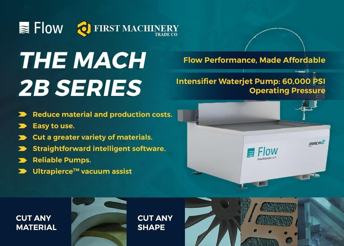 First Machinery Trade Co - Flow CNC Waterjet Cutting Machine